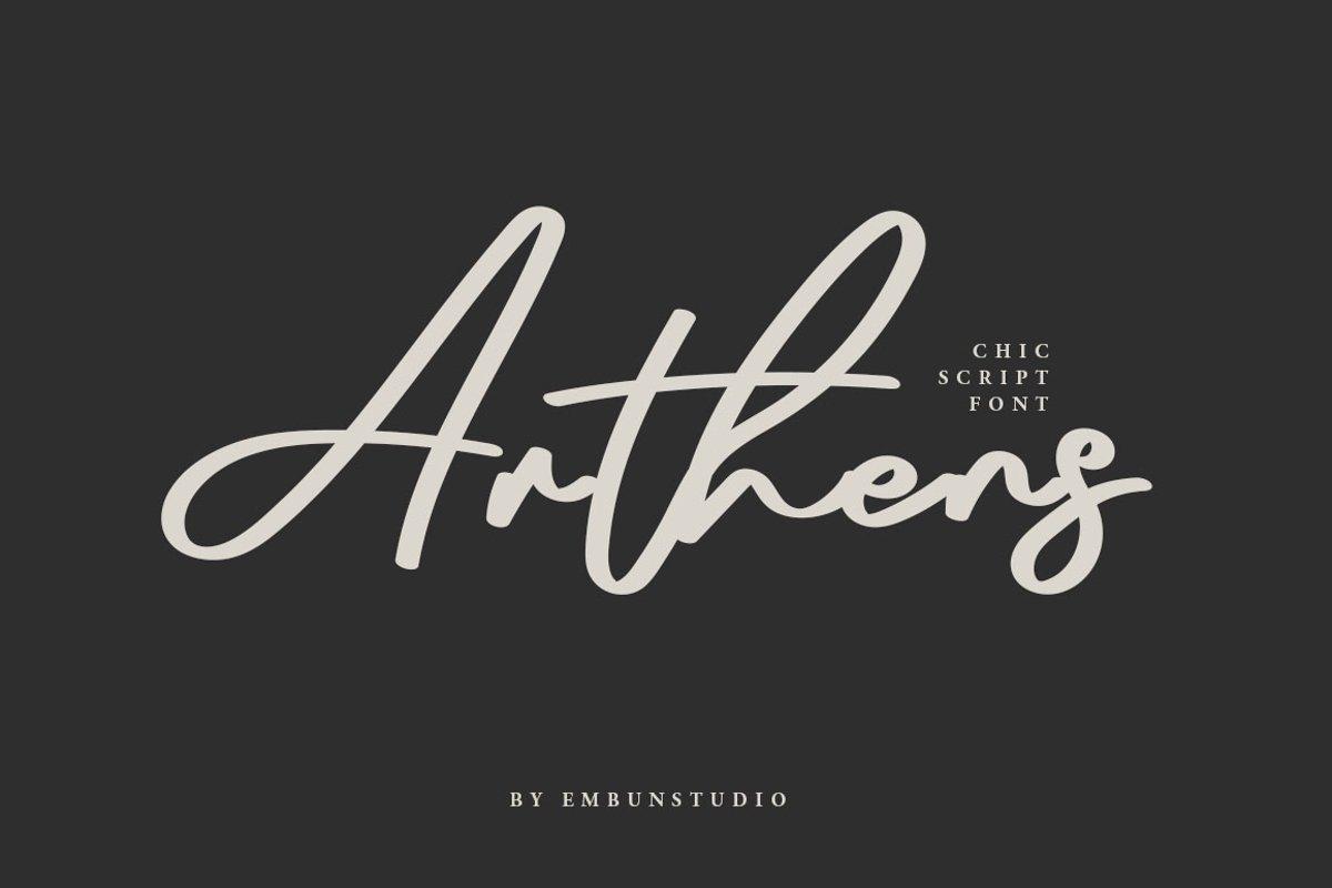 Arthens-Bold-Signature-Script-Font-1