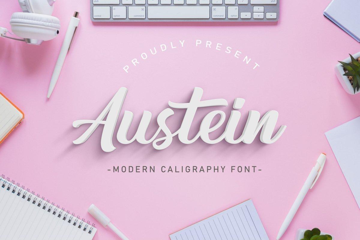 Austein-Bold-Script-Font