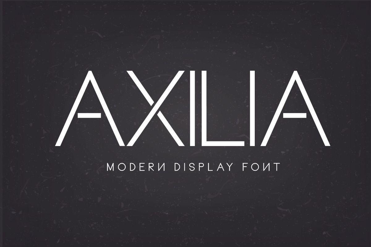 Axilia-Modern-Display-Sans-Typeface-1