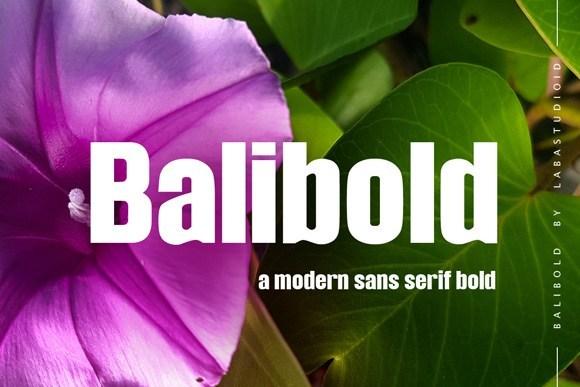 Balibold-Sans-Serif-Typeface
