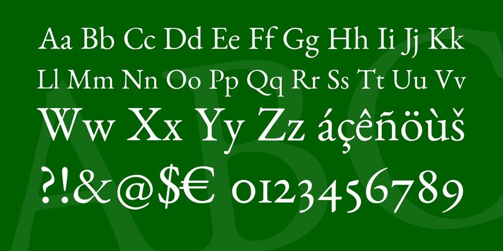 Benne-Serif-Text-Typeface-3