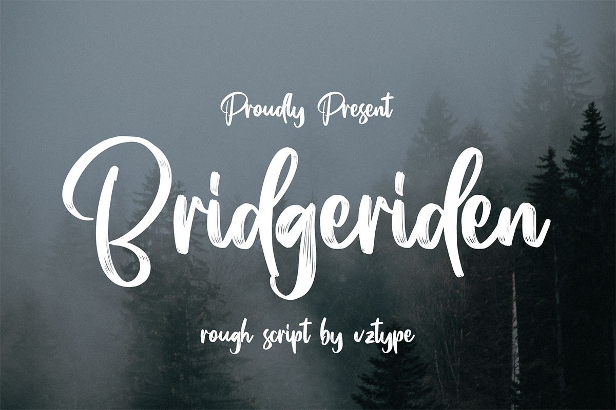 Bridgeriden-Brush-Script-Font-1