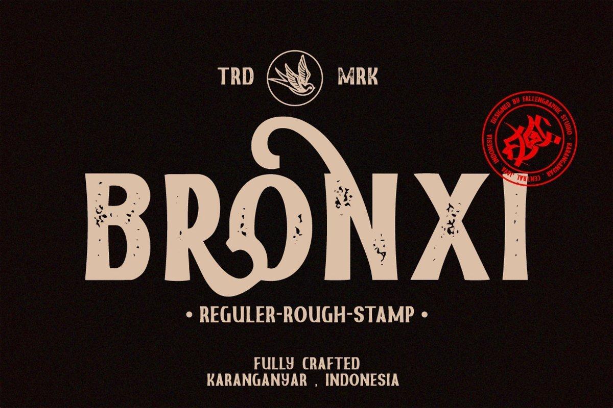 Bronxi-Vintage-Sans-Font-Family