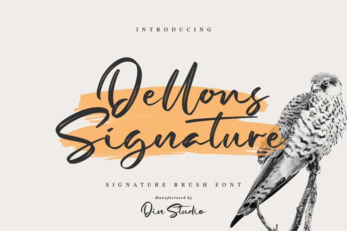 Dellons-Signature-Elegant-Brush-Font
