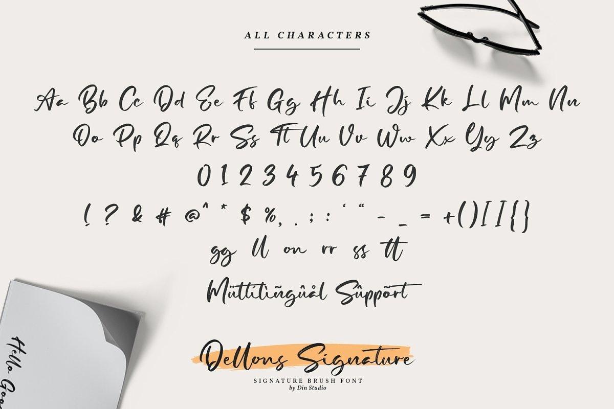 Dellons-Signature-Elegant-Brush-Font4