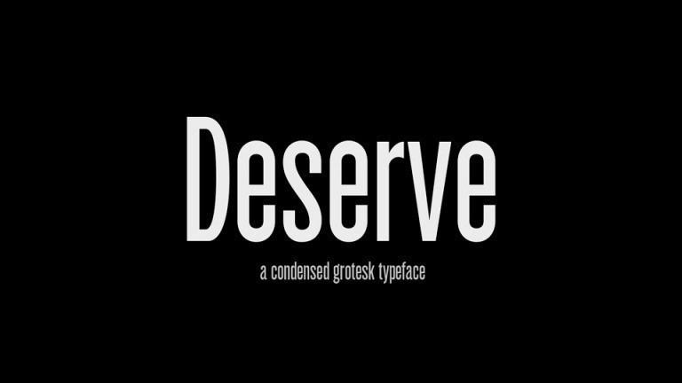 Deserve-Font-1