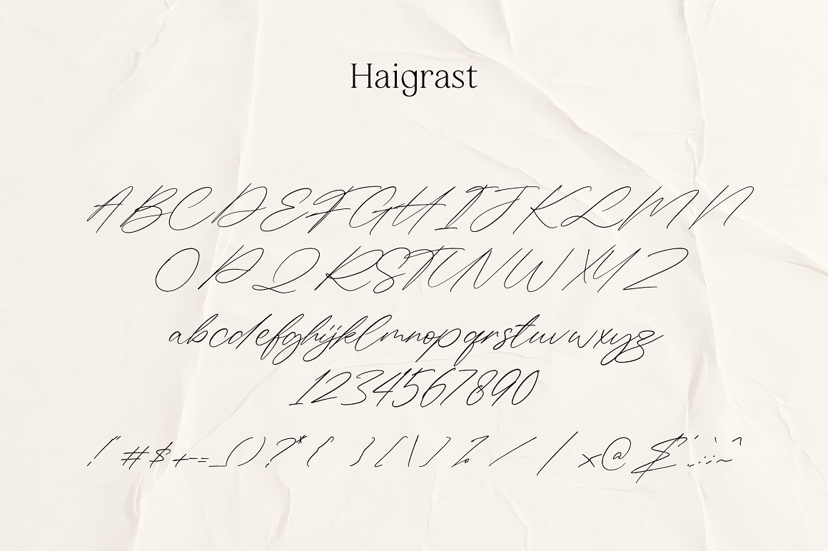 Haigrast-Dramatical-Font-Collection-3