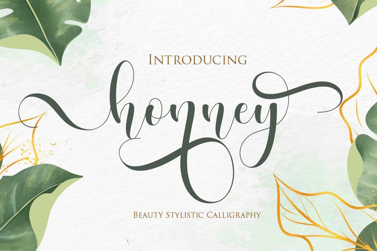 Honney-Modern-Calligraphy-Script-Font-1
