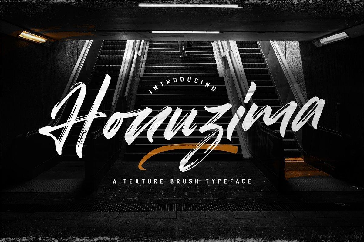 Honuzima-Handbrush-Script-Font-1