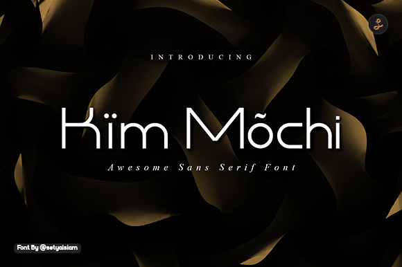 Kim Mochi Sans Display Font