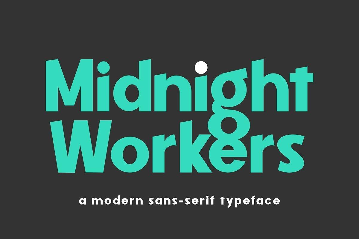 Midnight-Workers-Modern-Sans-Serif-Typeface