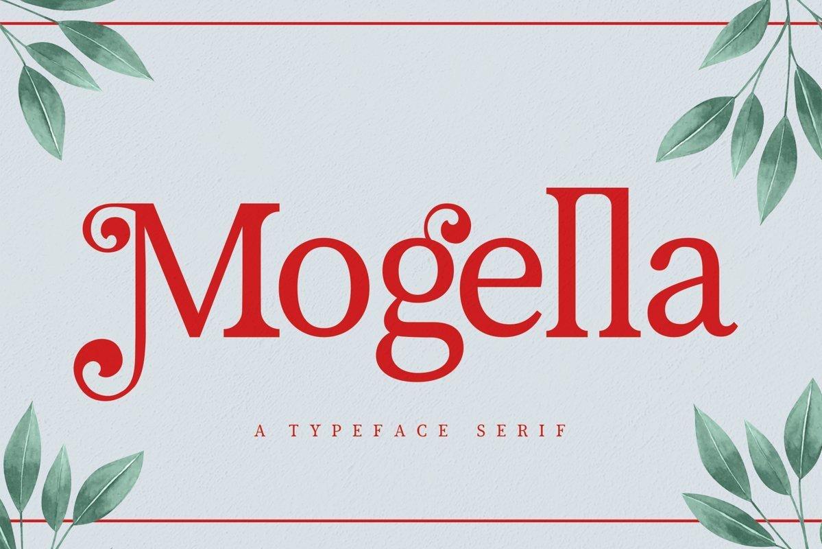 Mogella-Bold-Serif-Typeface
