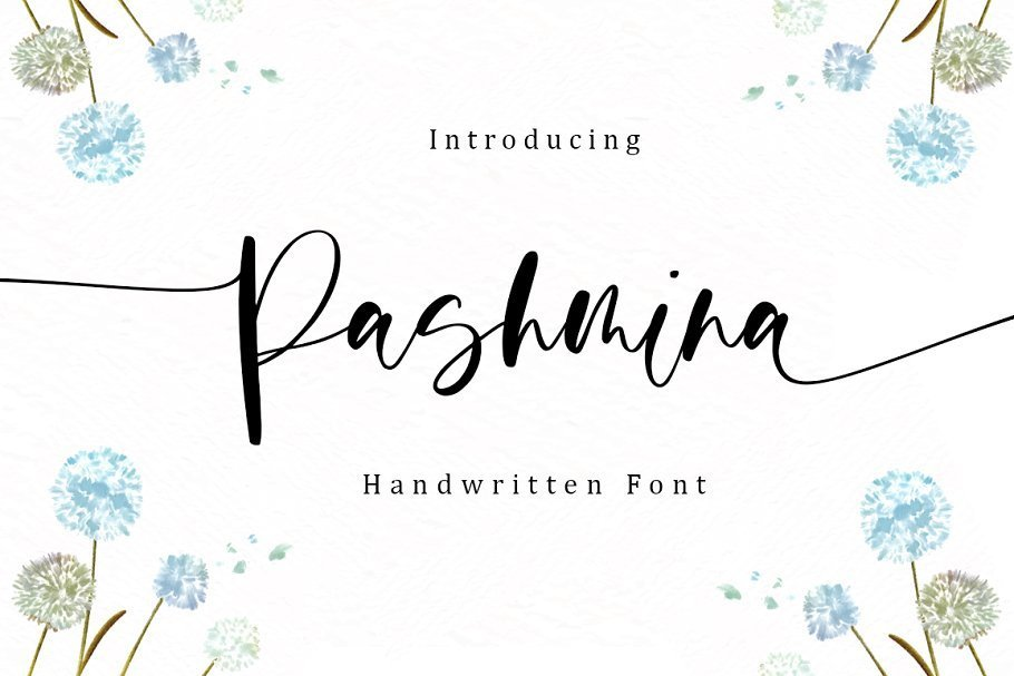 Pashmina-Handwritten-Script-Font
