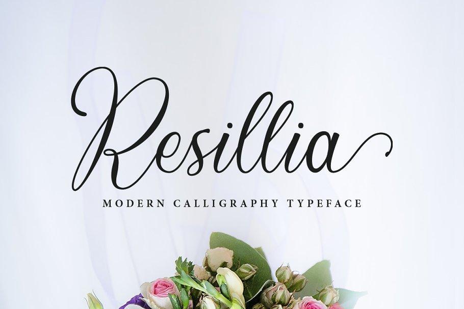 Resillia-Calligraphy-Script-Typeface