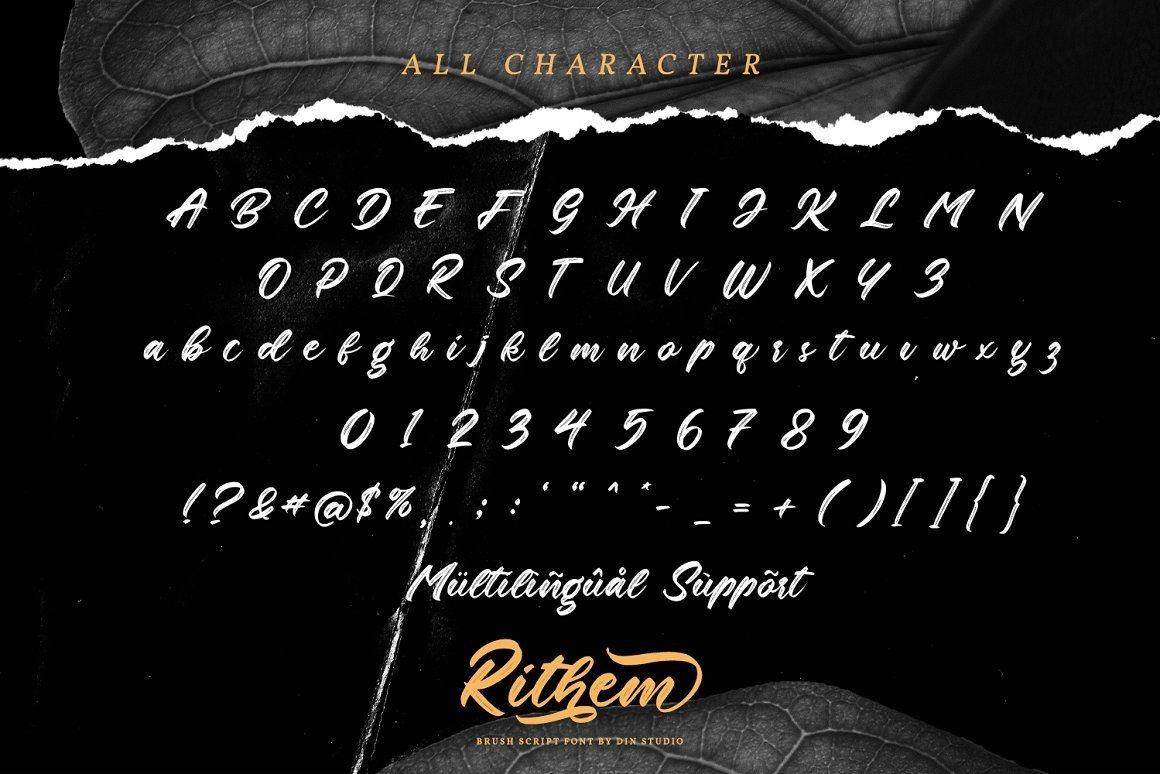 Rithem-Brush-Script-Font-3