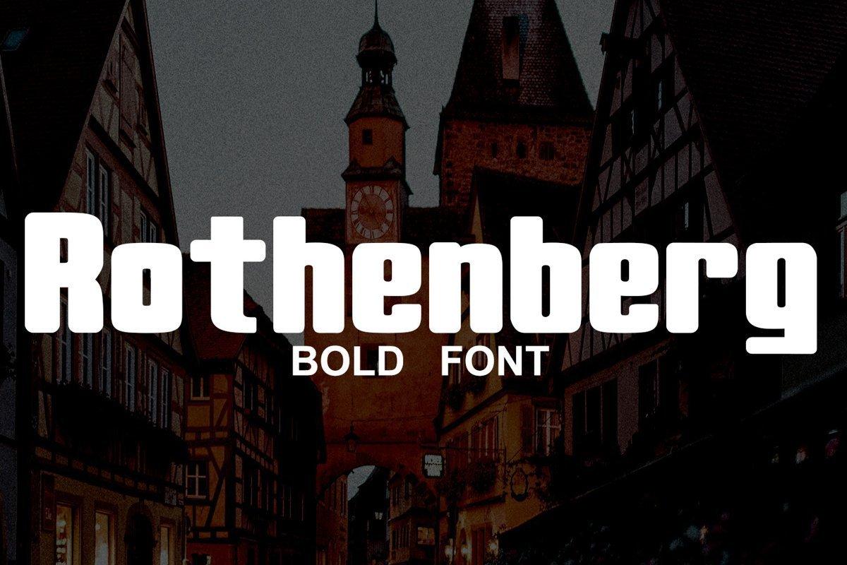 Rothenberg-Bold-Sans-Serif-Font