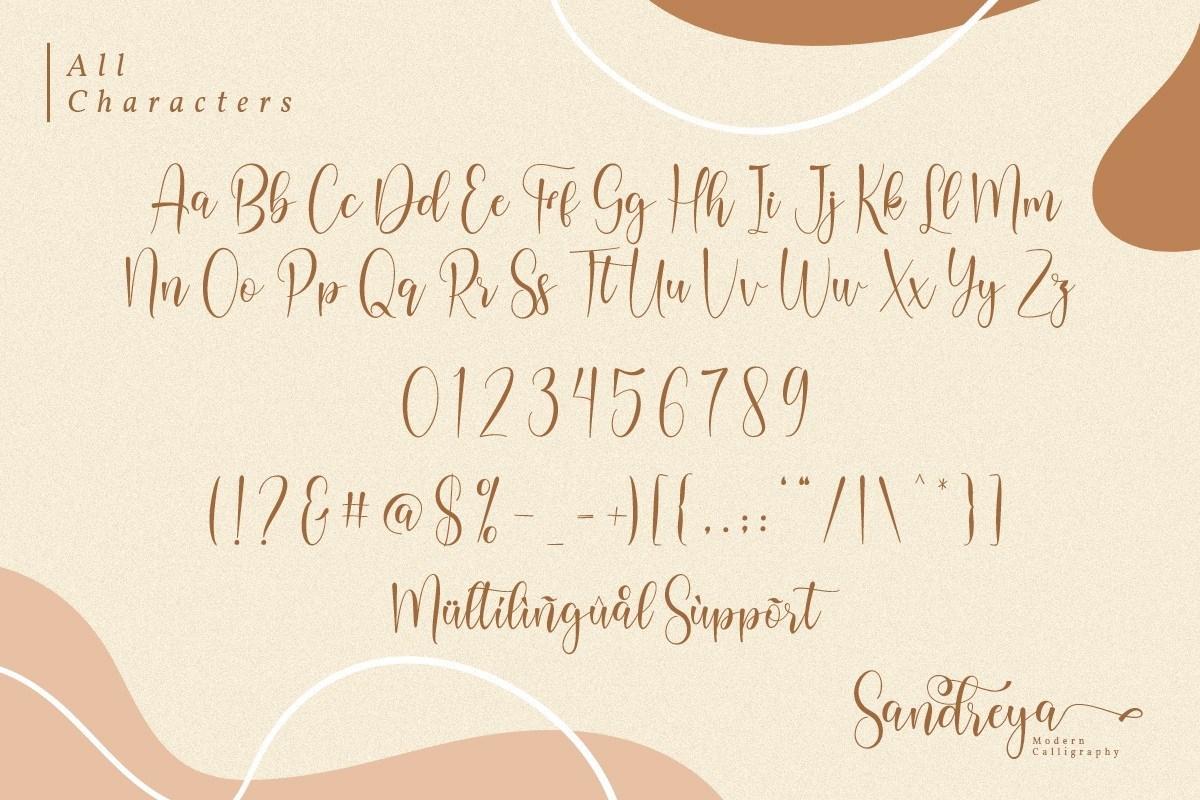 Sandreya-Modern-Calligraphy-Font-3