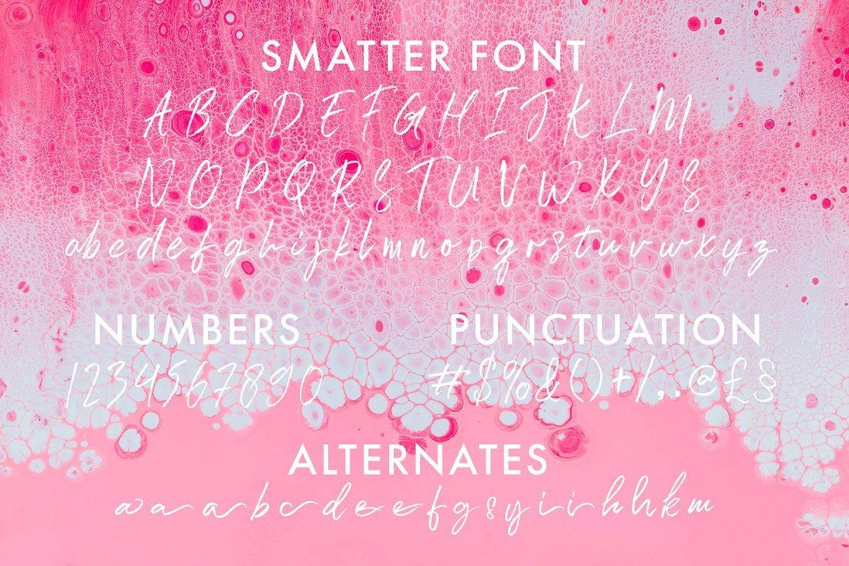 Smatter-Brush-Script-Font-3