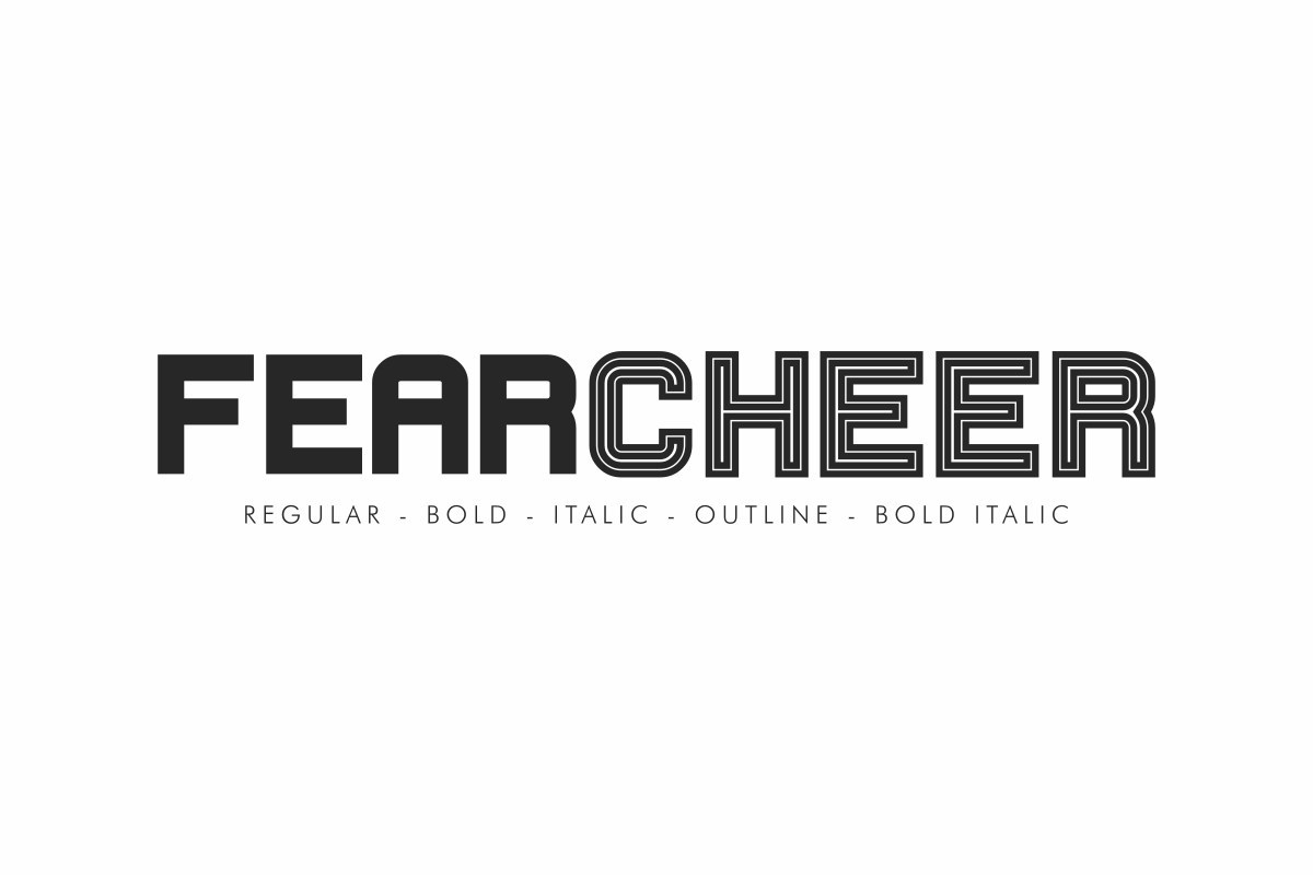 Fearcheer-Sans-Display-Font-Family