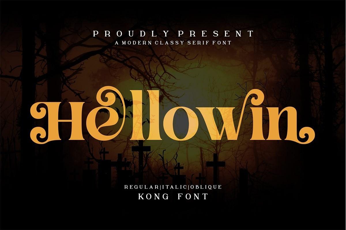 Hellowin-Modern-Serif-Font