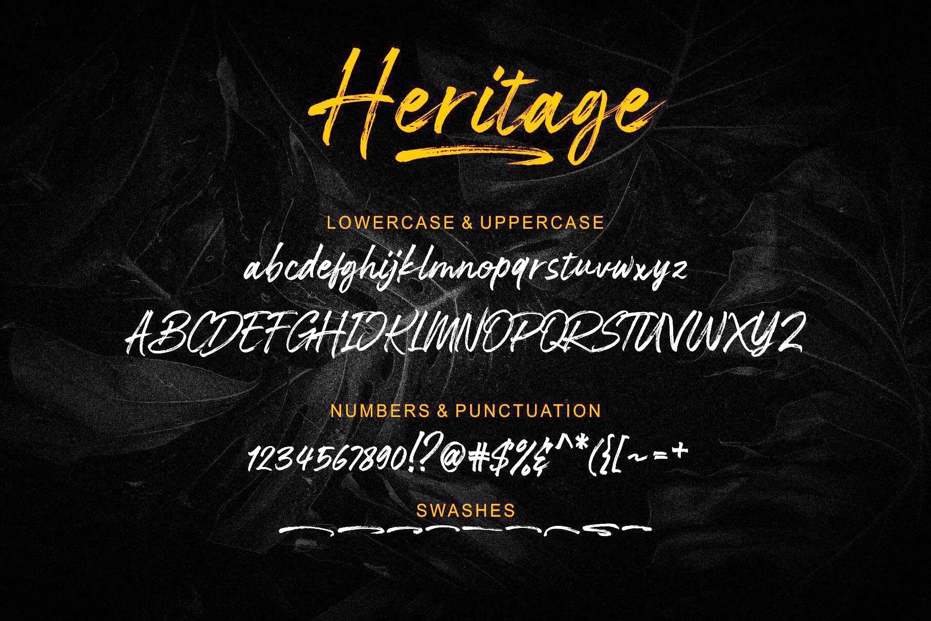 Heritage-Brush-Script-Font-3