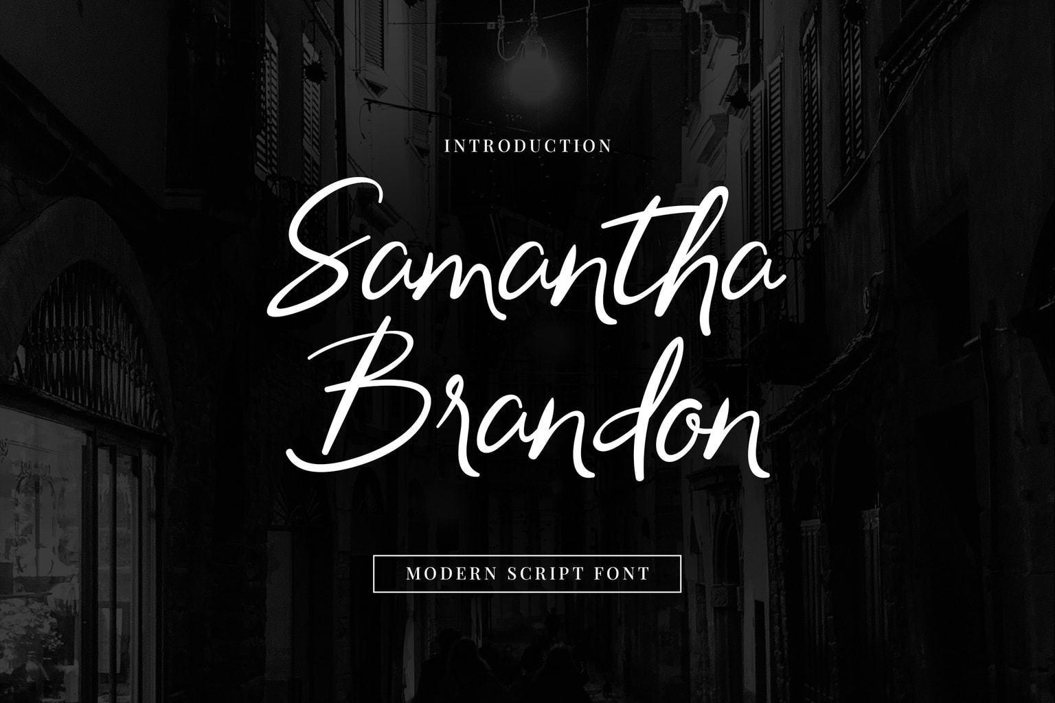 Samantha-Brandon-Handwritten-Font